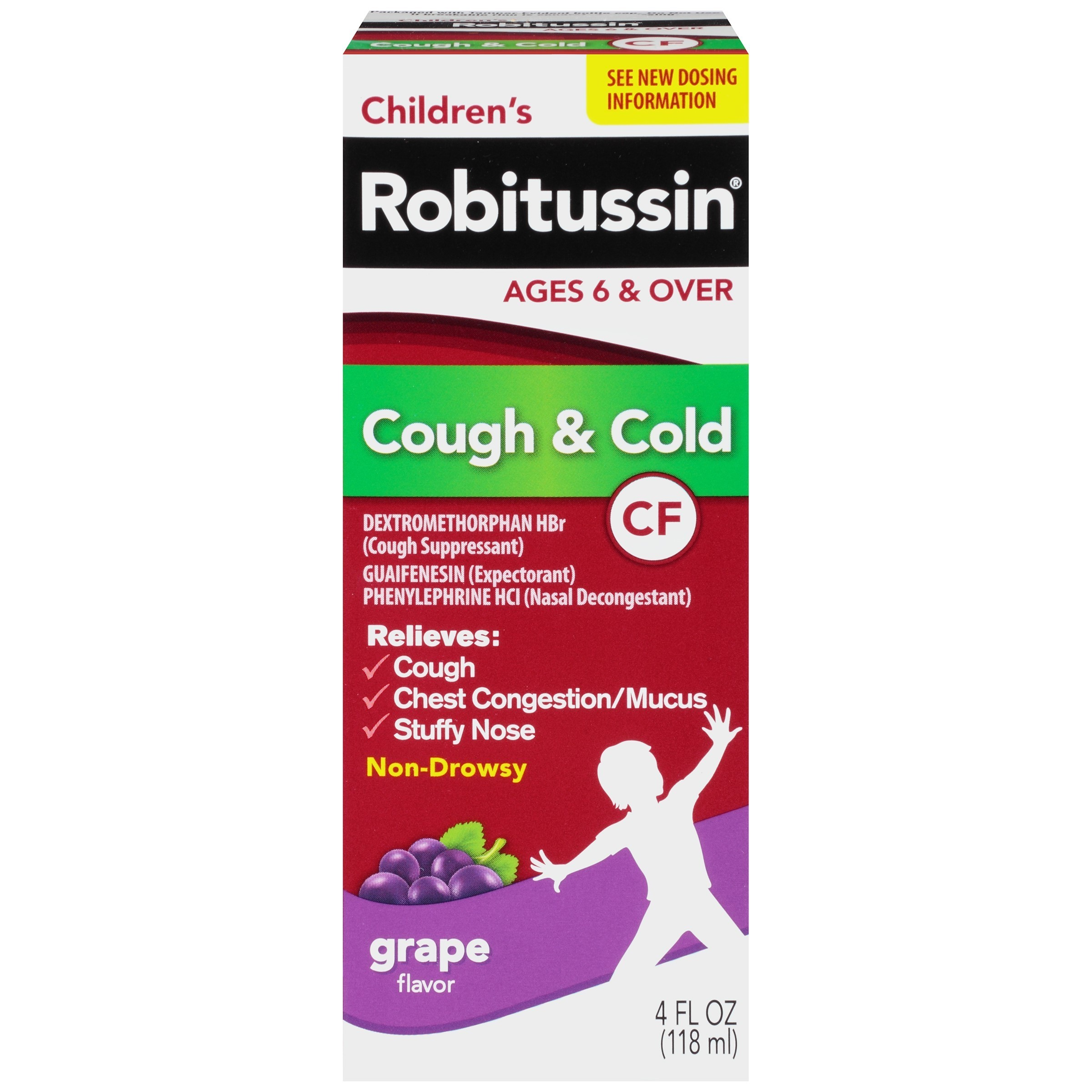 49214 Robitussin 174 Children S Cough Amp Cold Cough Medicine